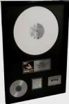 LIKE A VIRGIN - RIAA MULTI-PLATINUM  AWARD (Presented to MADONNA)